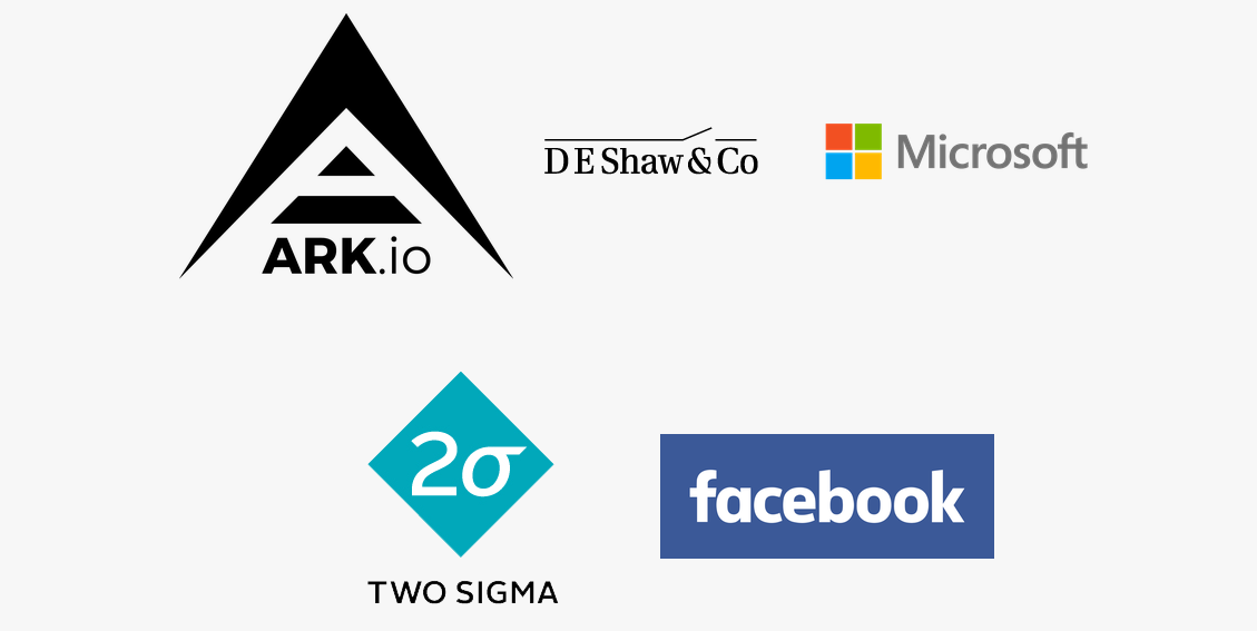 ARK is one of the largest sponsors of HackPrinceton