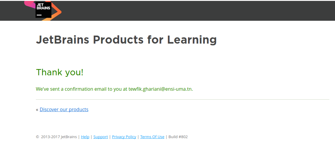 JetBrains Products for students! - Tewfik Ghariani - Medium