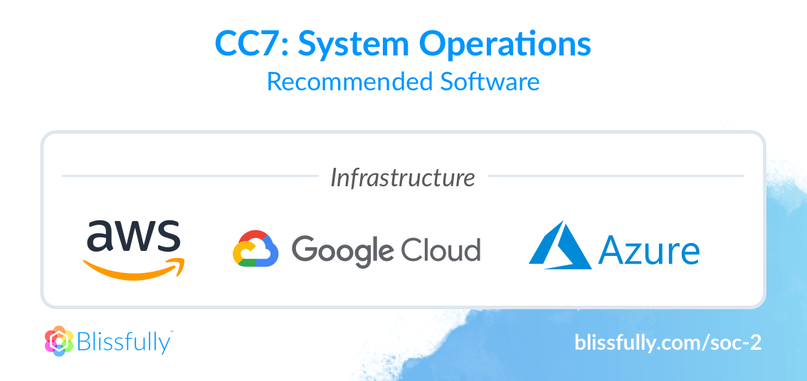 SOC 2 Common Criteria 7 Recommended Software