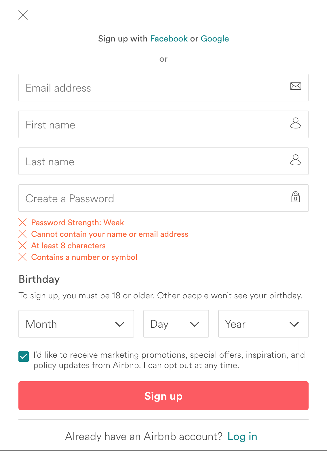 Designing a user friendly login - UX Collective