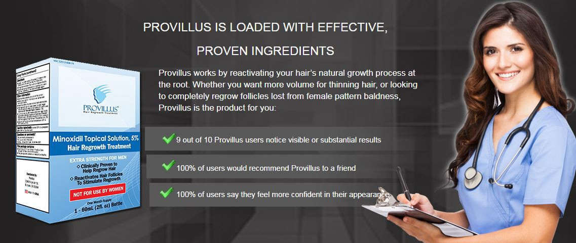 Provillus Hair Regeneration Formula 2019 Review By Mike Shaw