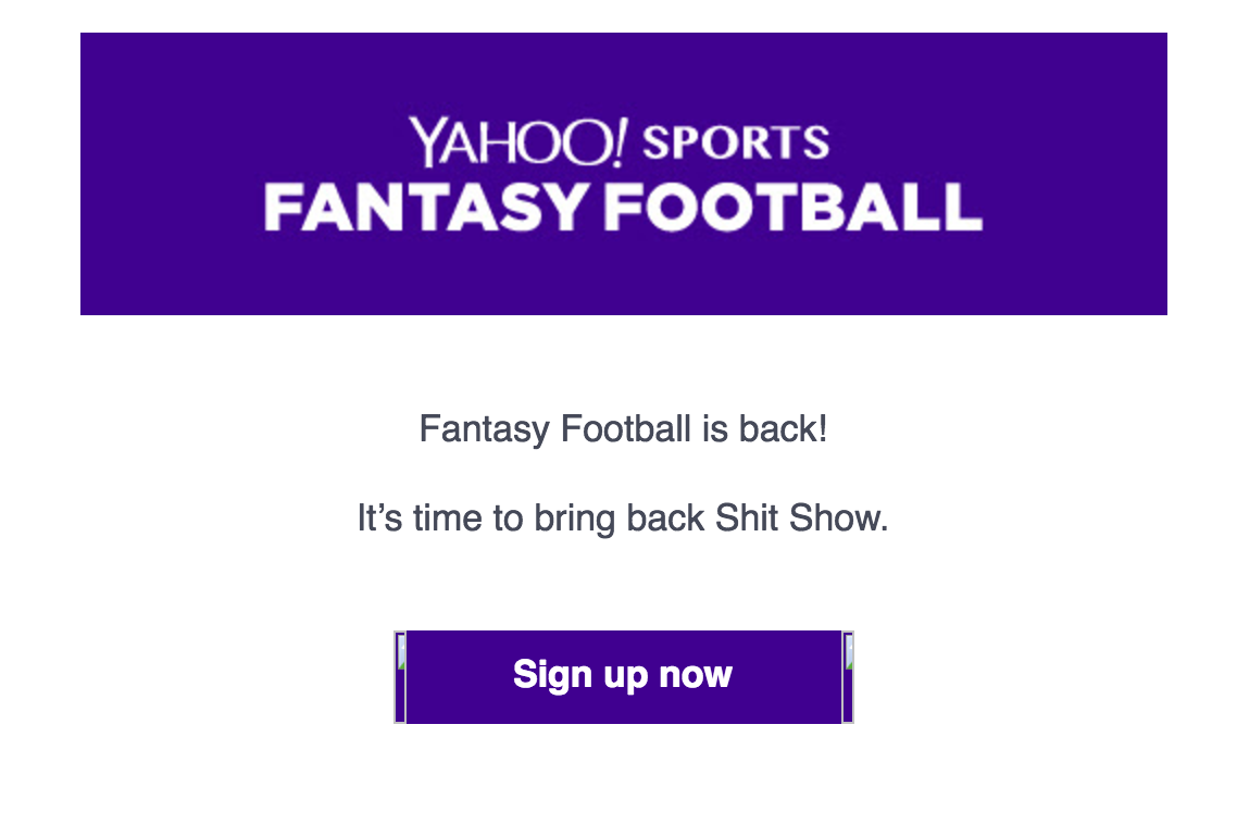 The Time I Blacked Out during a Fantasy Football Draft