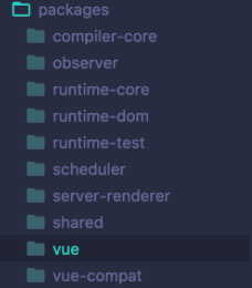 picture of decompiled vue3 packages