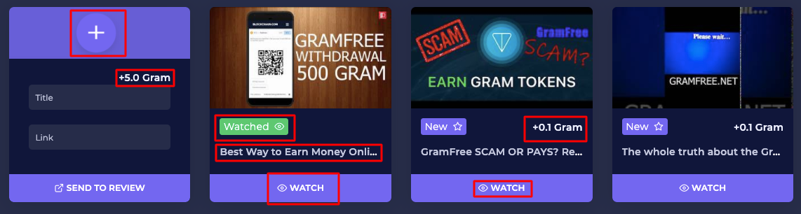 How To Gram Free Earn Money 1000 Dollar Review Step By Step