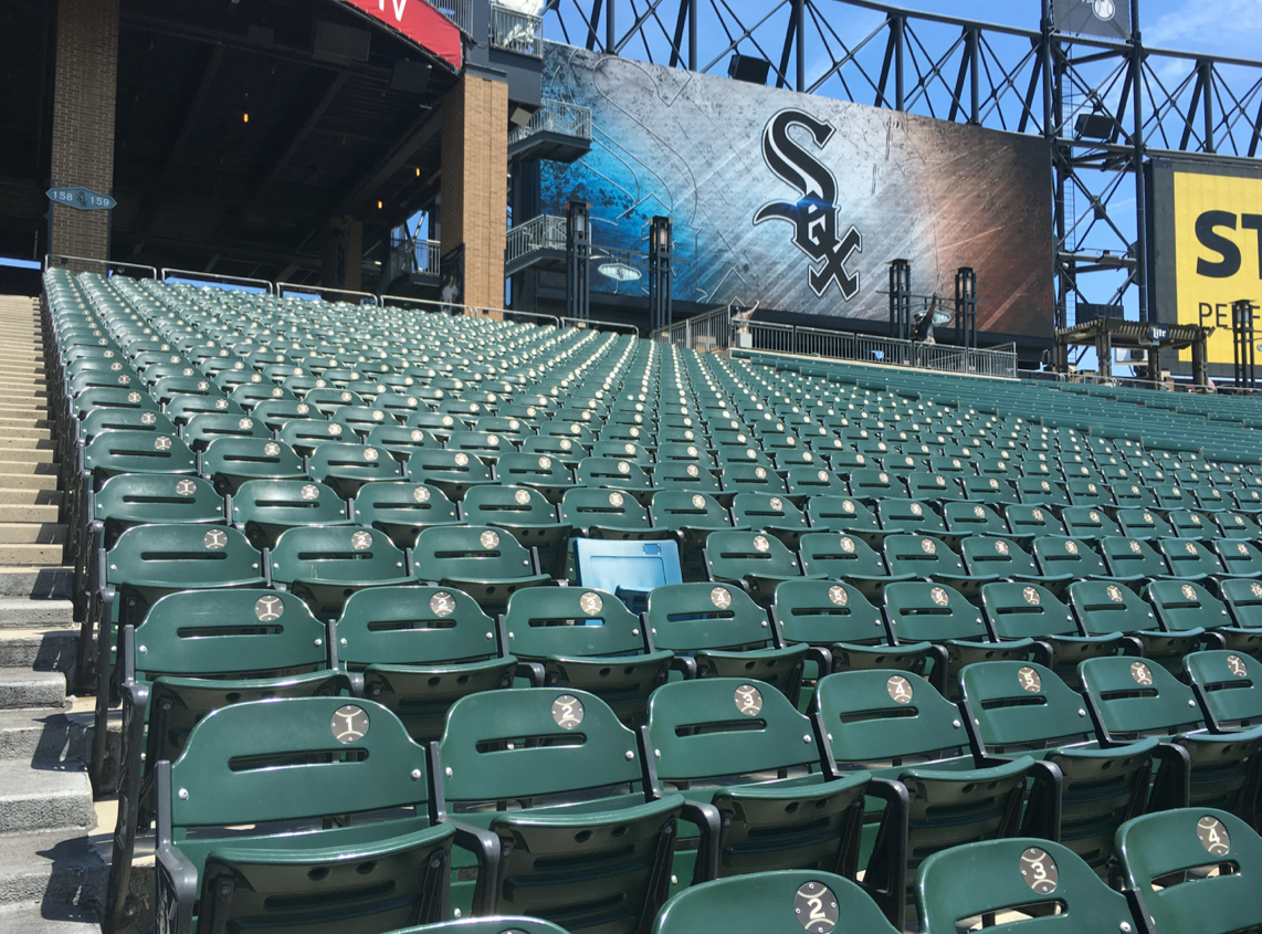 Strange Behind The Ballpark Inside The White Sox Onthecornerstone Fun Painted Chair Ideas Images Onthecornerstoneorg