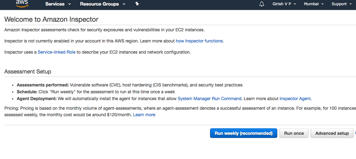 AWS Inspector — Security Assessment Tool - Tensult Blogs
