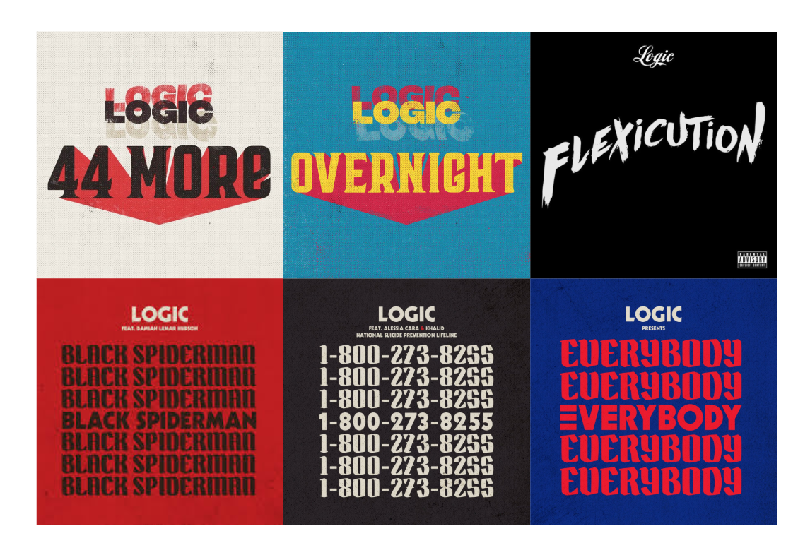 The Art & Typography Behind Logic's Music - Frank Chen - Medium