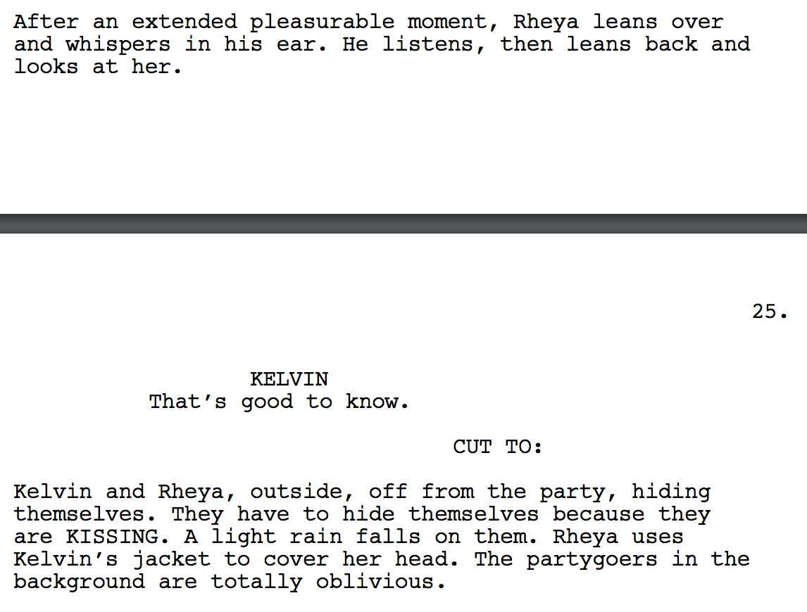 Impressionistic Screenwriting (Lessons from Soderbergh's