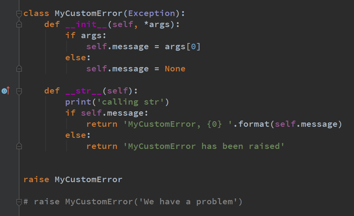 How to Define Custom Exception Classes in Python | by Stephen Fordham |  Towards Data Science