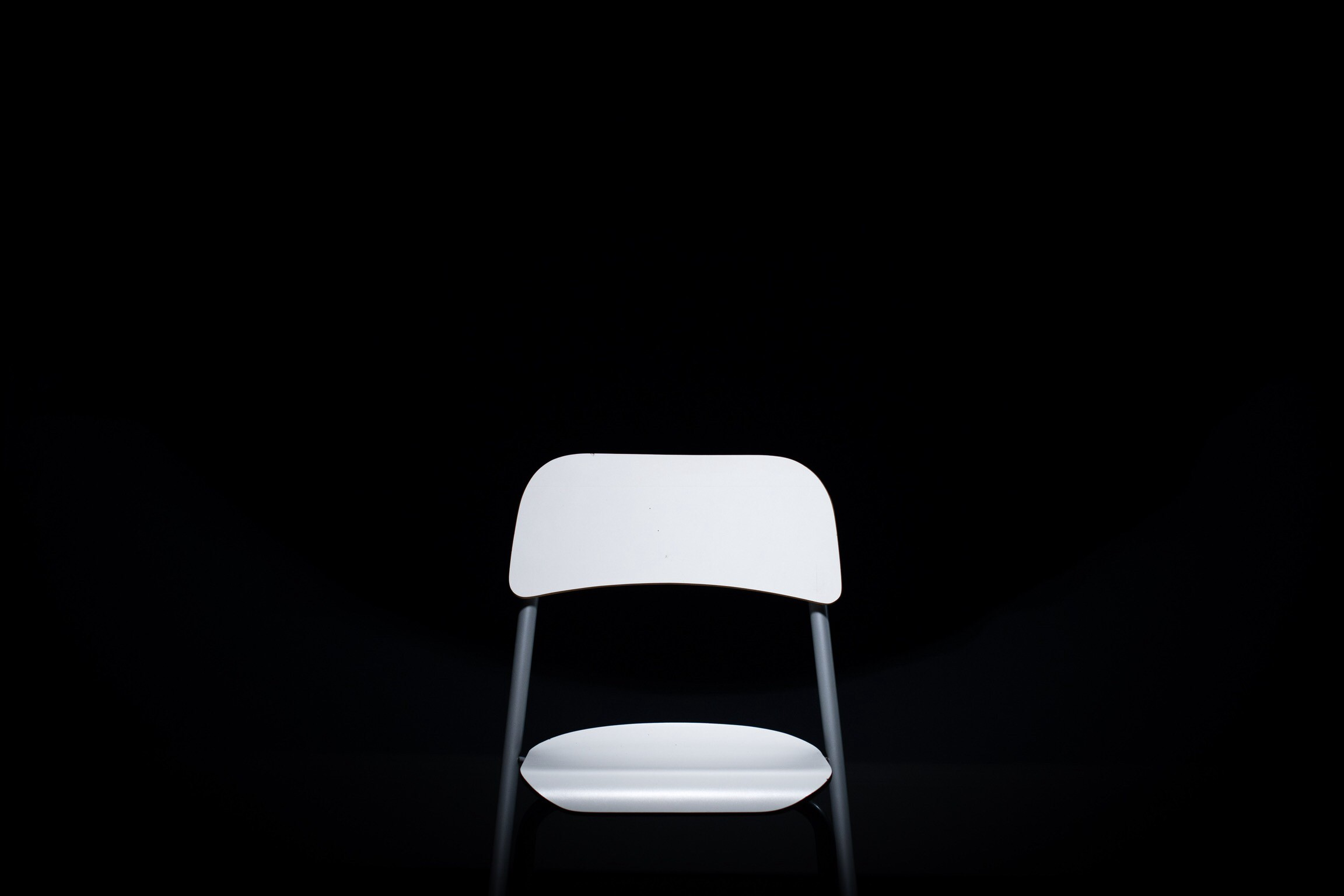 An image of an empty chair