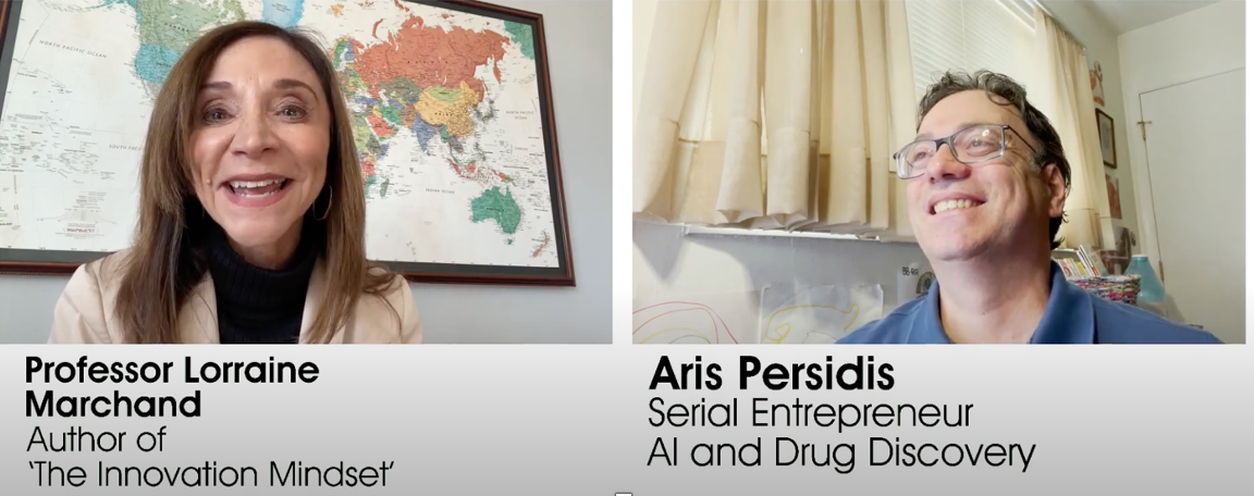 Lorraine Marchand—Author of 'The Innovation Mindset' and Aris Persidis—Serial Entrepreneur
