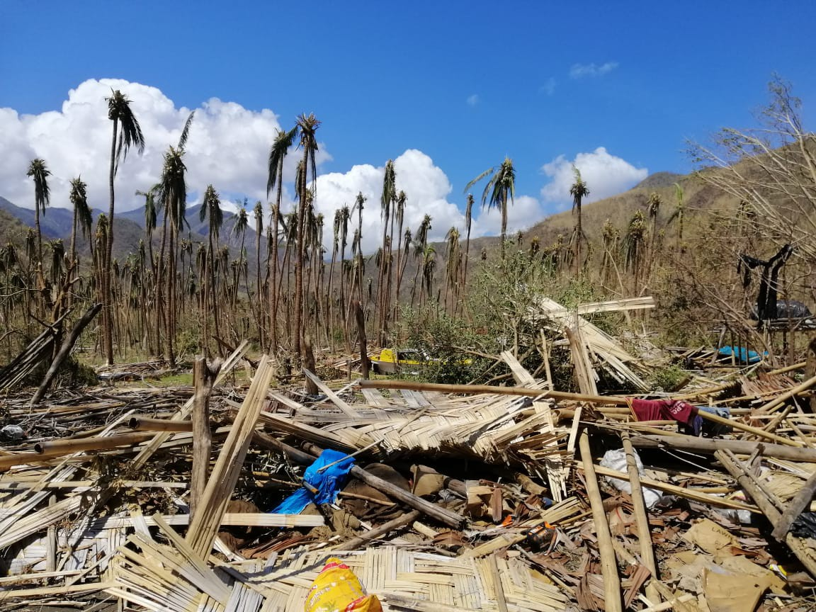 Destruction from Cyclone Harold in Vanuatu, April 2019. Credit: Dr. CristopherBartlett/VCAN/Oxfam
