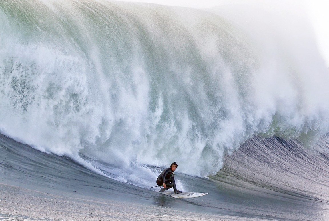 Meet The Youngest Person To Ever Surf The Mavericks Big Wave