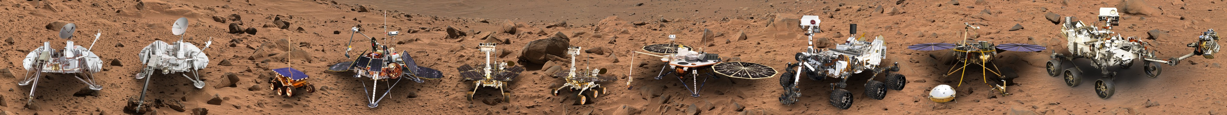 All Mars Rovers and Landers From NASA