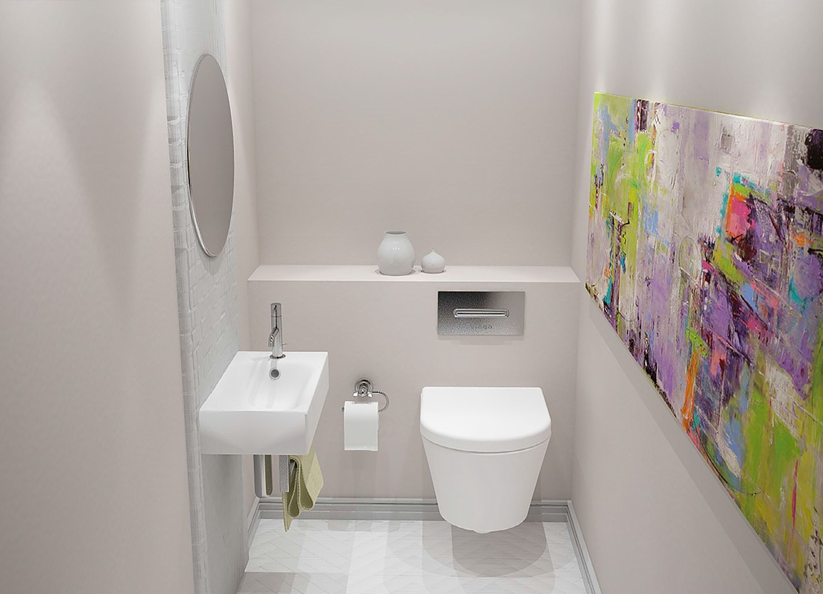 Bathroom Designs For Small Spaces By Putra Sulung Medium