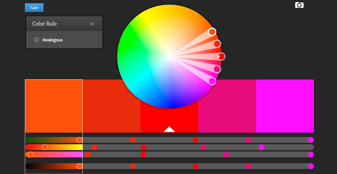 Adobe Kuler Color CC color palette generator