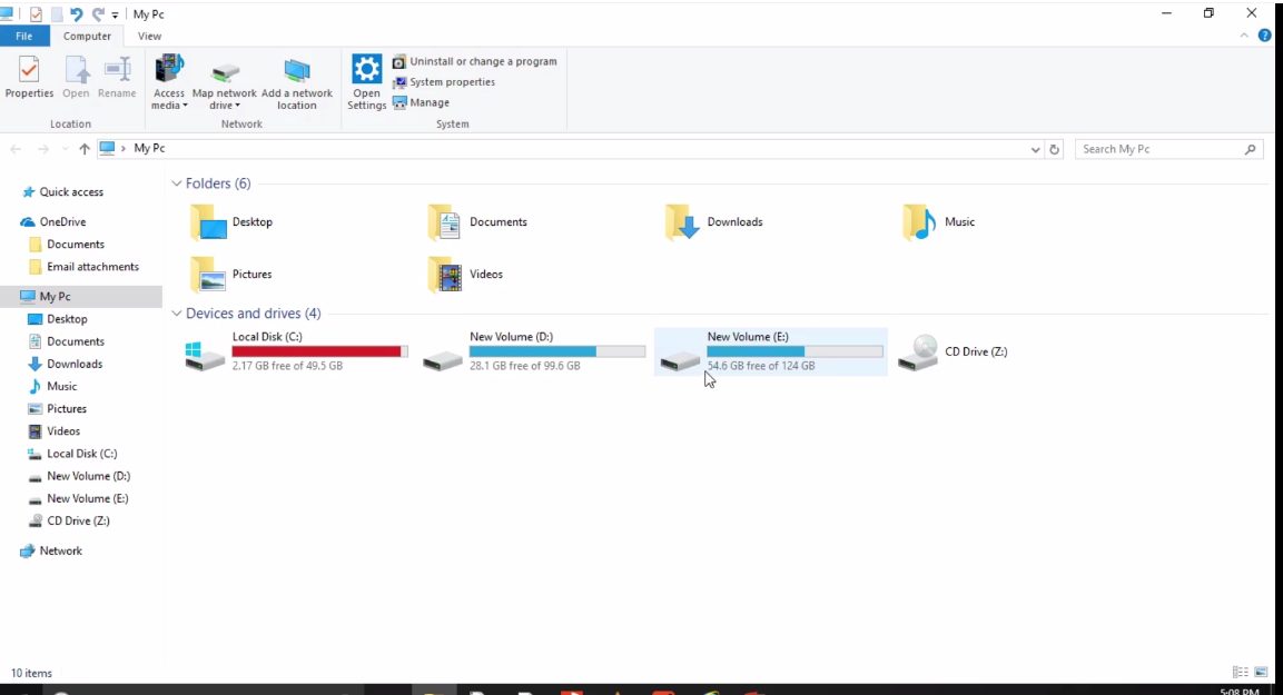 How to increase your C:\ drive volume in Windows OS