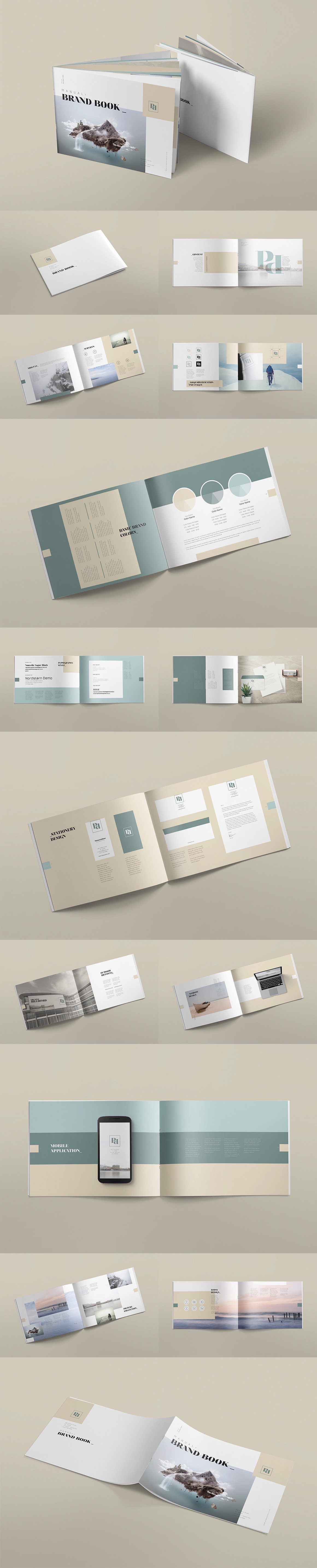 Style Guide Brand Book Templates By The Logo Creative Medium,Front Yard Garden Design Ideas With Pebbles