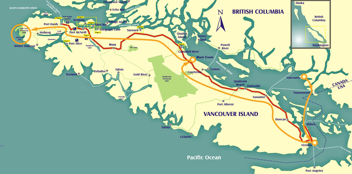 Cape Scott Prologue — Getting There | by Keenan Ngo | Adventure Arc | Medium