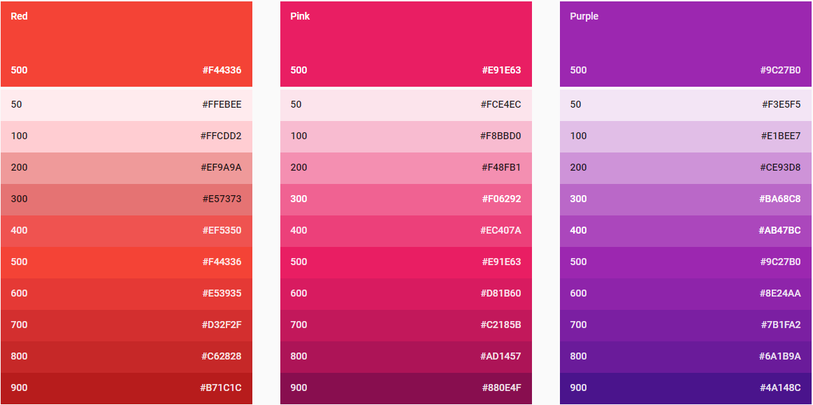 Red White And Blue Seven Rules About Color Palettes That By Nick Babich Springboard
