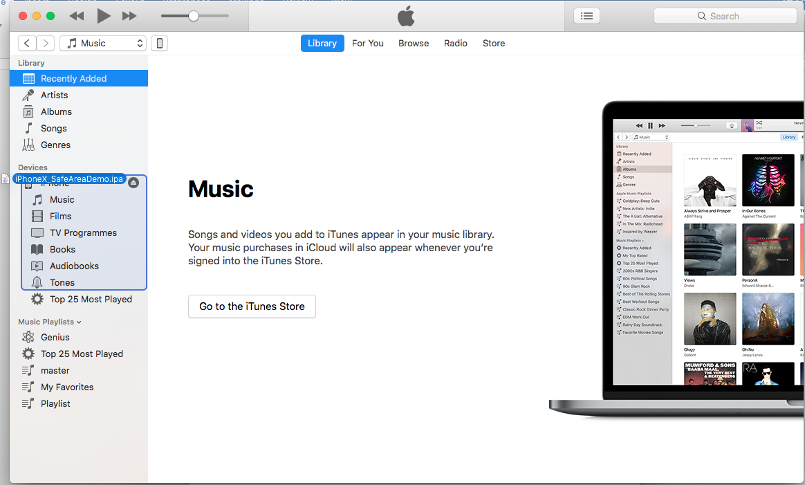 Latest iTunes 12 7 removed the Apps option, how to install
