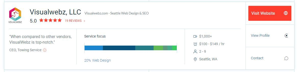 How To Find A Top Web Design Agency In Seattle Wa By Visualwebz Llc Web Design Online Marketing Jul 2020 Medium