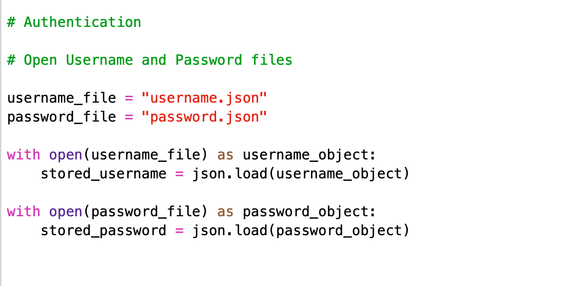 Creating a login module in Python 3 for beginners