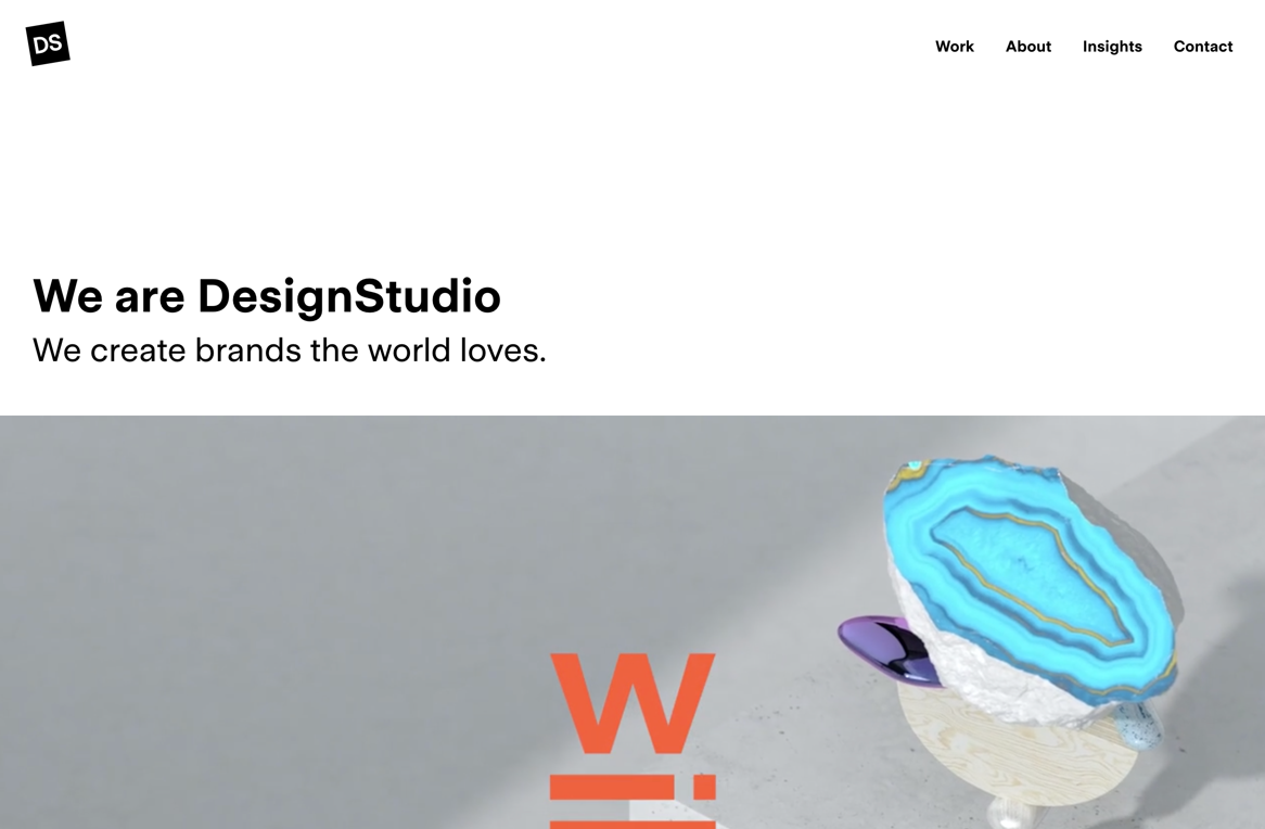 DesignStudio — a branding agency and digital creative firm
