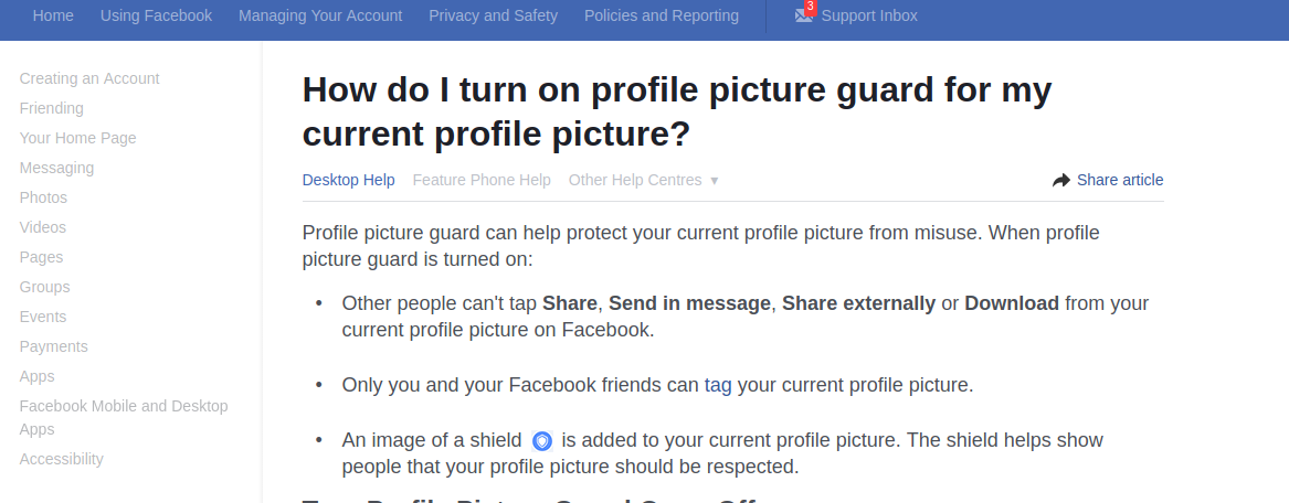 How I Bypassed Facebook Profile Picture Guard Security