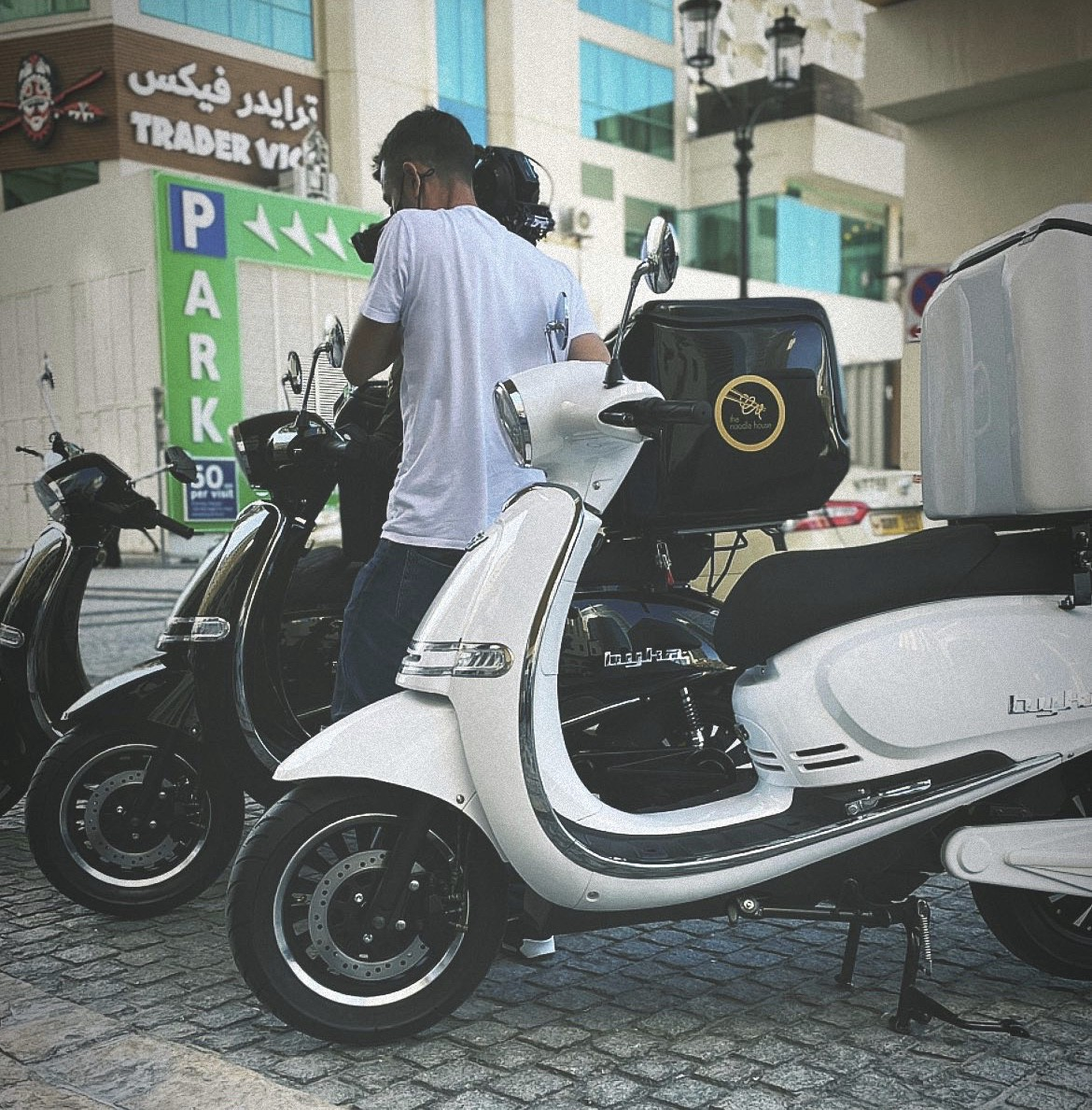 Filming with ONE MOTO Electric Vehicles