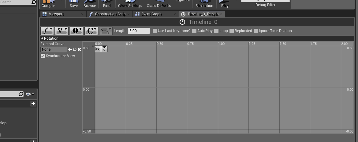 Making animations with UE4 blueprints: the Timeline