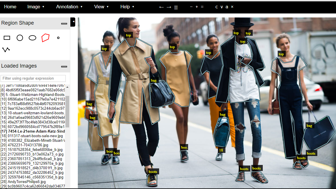 Stuart Weitzman Boots Designer Bags And Outfits With Mask R Cnn By Michael Sugimura Towards Data Science