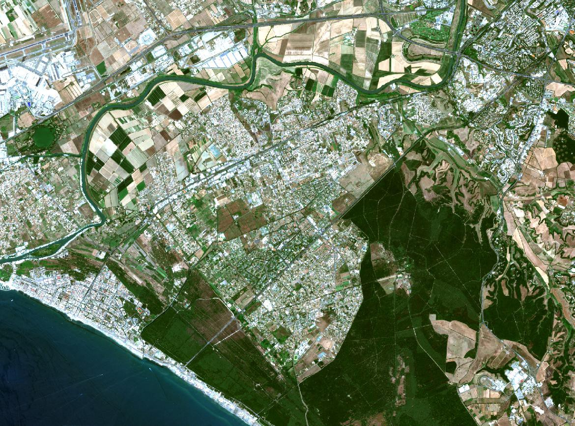 Satellite imagery access and analysis in Python & Jupyter