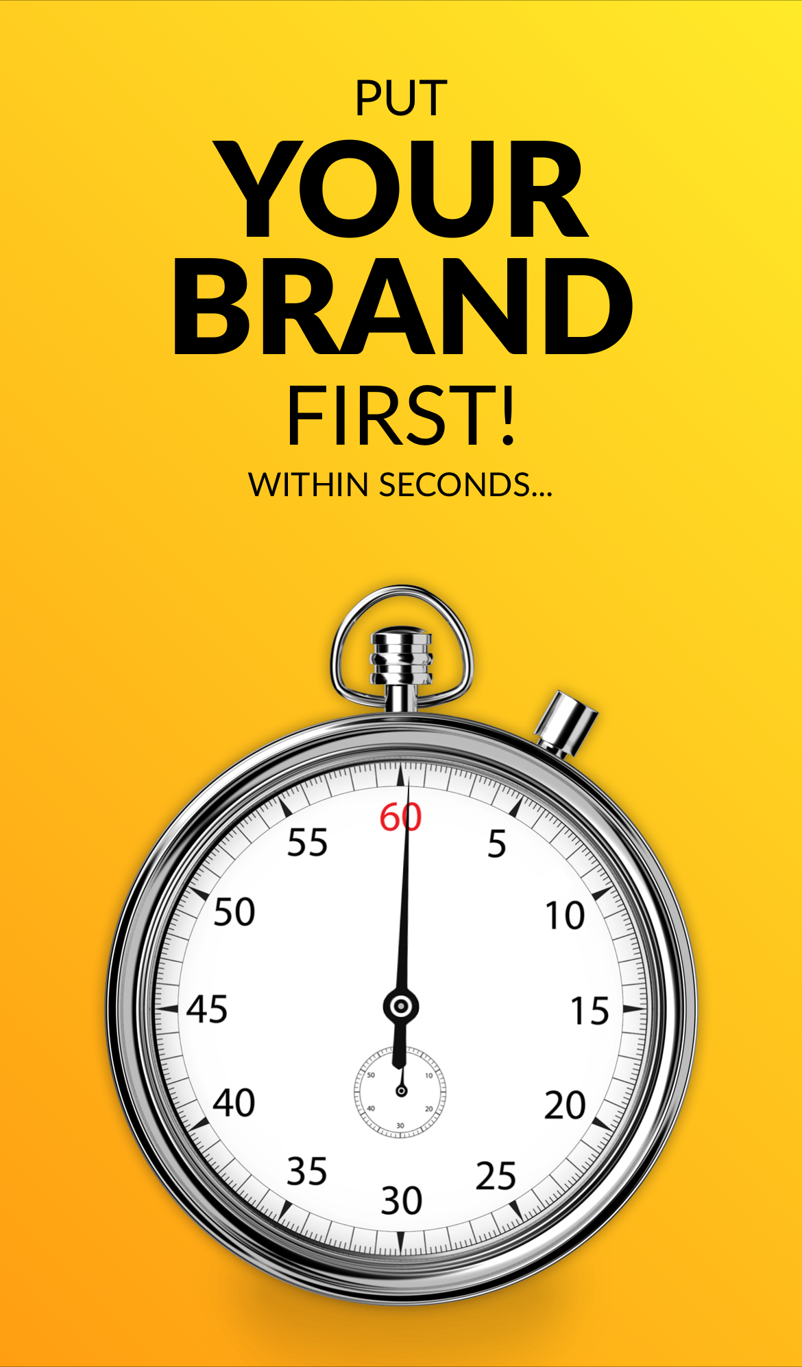 Your webAR creation should show your initial brand message within 1–2 seconds