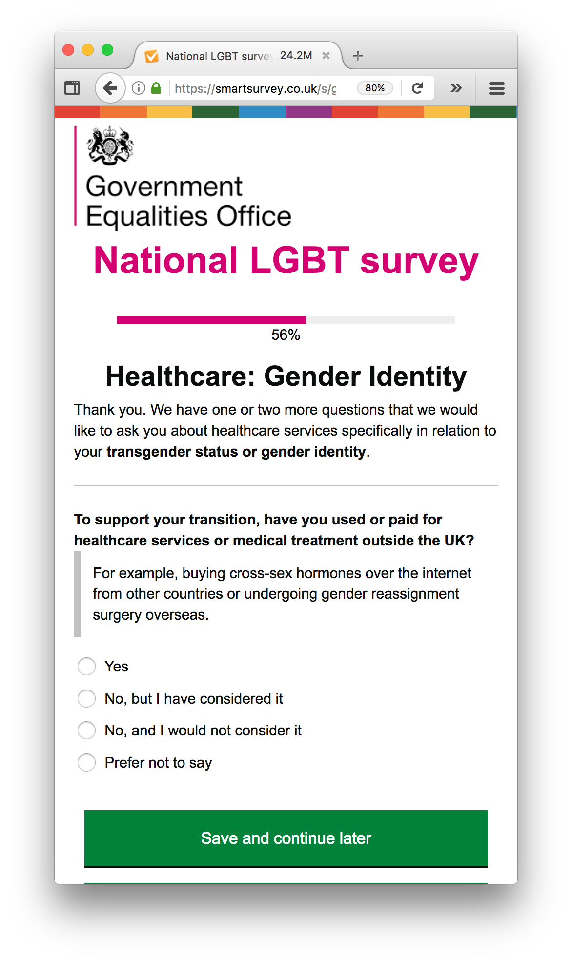 Thoughts on the National LGBT survey - Rachel Evans - Medium