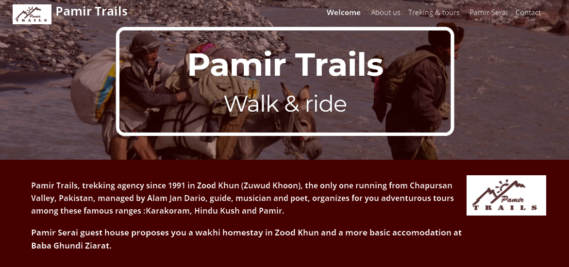 Pamir Trails trekking and adventures in Chapursan Valley, Pakistan