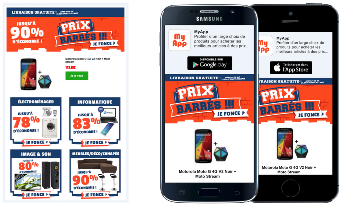 Email Marketing: Getting Mobile Shoppers to Download your App