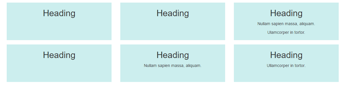 Varying Column Heights in Bootstrap - WDstack - Medium