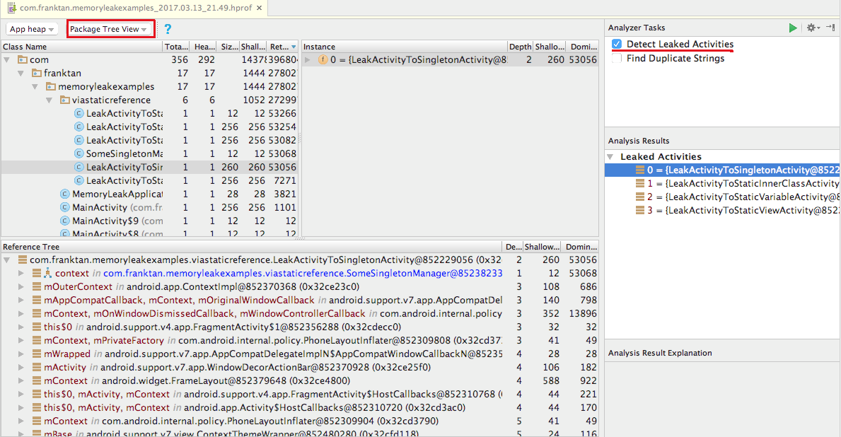 Memory Leak Patterns in Android - AndroidPub