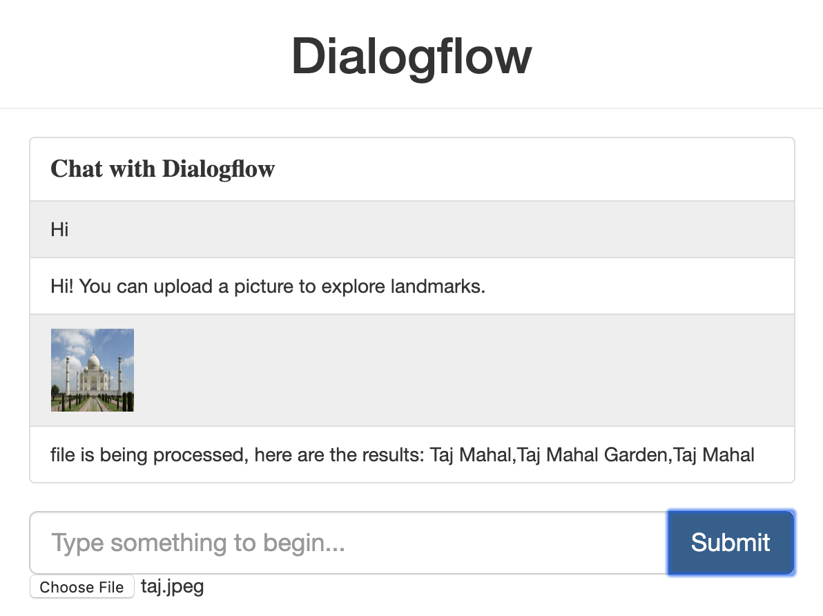 Add Image Recognition to your Chatbot with Google Dialogflow