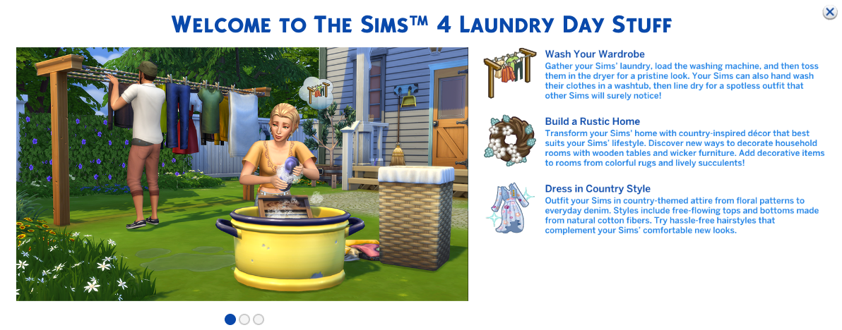 I bought EA's latest expansion pack for The Sims 4 so you