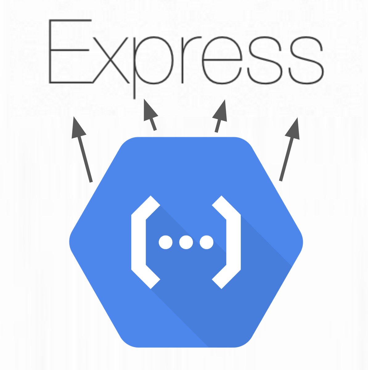 Google Cloud Functions calling different endpoints in an Express app