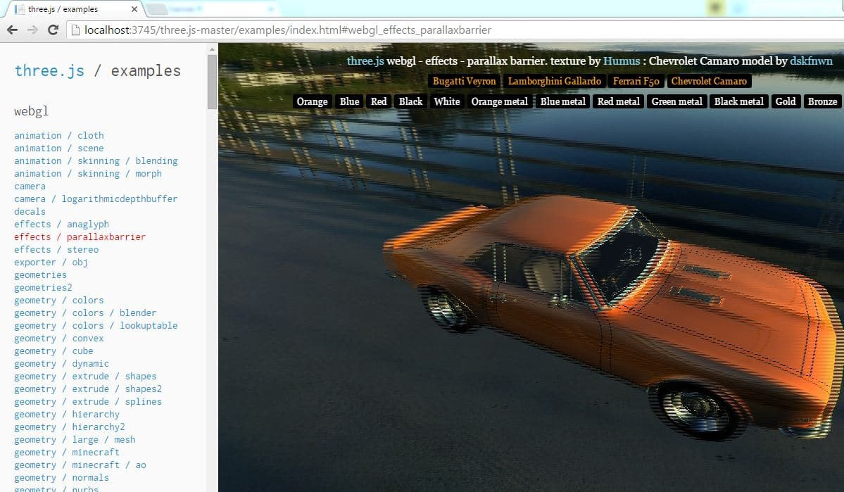 BRING A 3D OBJECT TO LIFE IN A WEB BROWSER WITH THREE JS