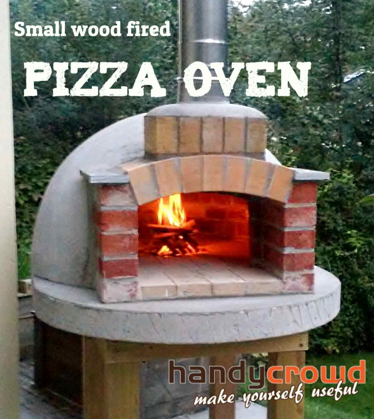 Building A Small Wood Fired Pizza Oven Ian Anderson Medium