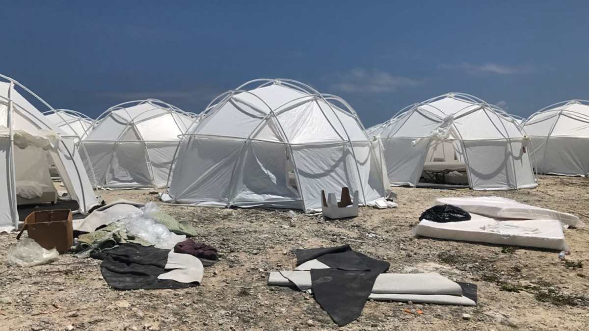 the reality of Fyre Festival was not as advertised