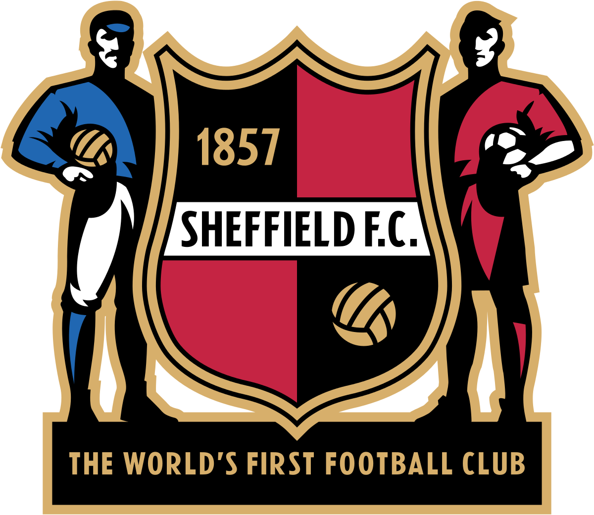 "1857 founding of Sheffield Football Club — ""the world's oldest football club"""