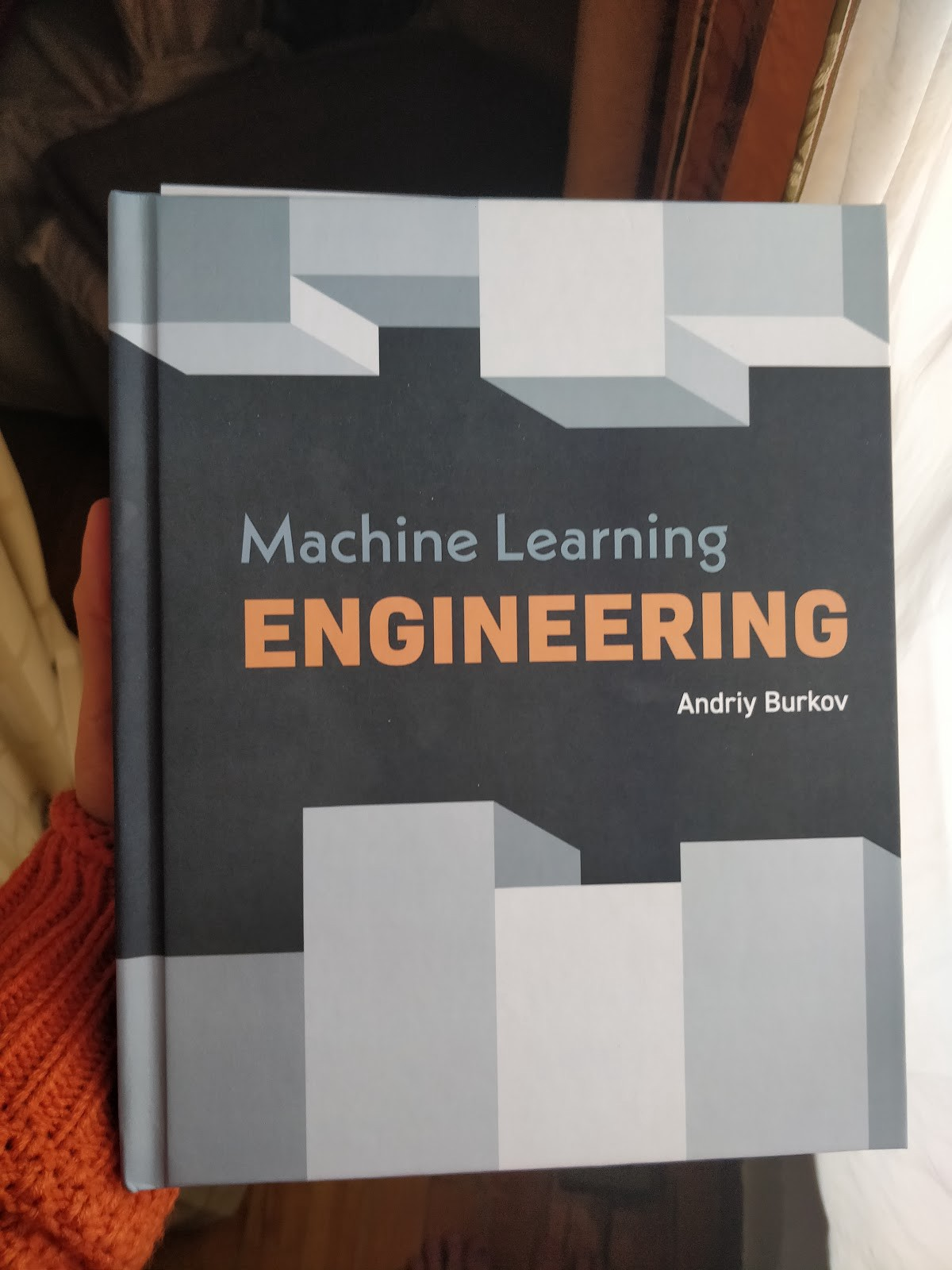 Machine Learning Engineering by Andriy Burkov—great reading for anyone interesting in ML systems!