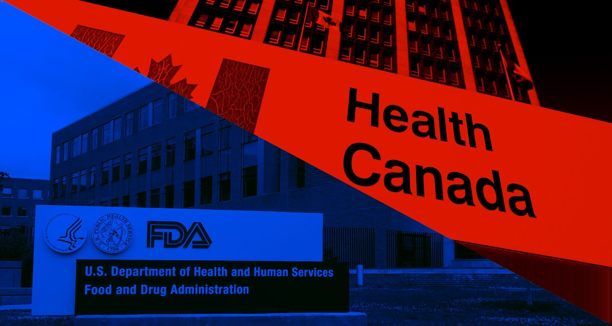 Shades of Bureaucracy — Differences between the FDA and Health Canada