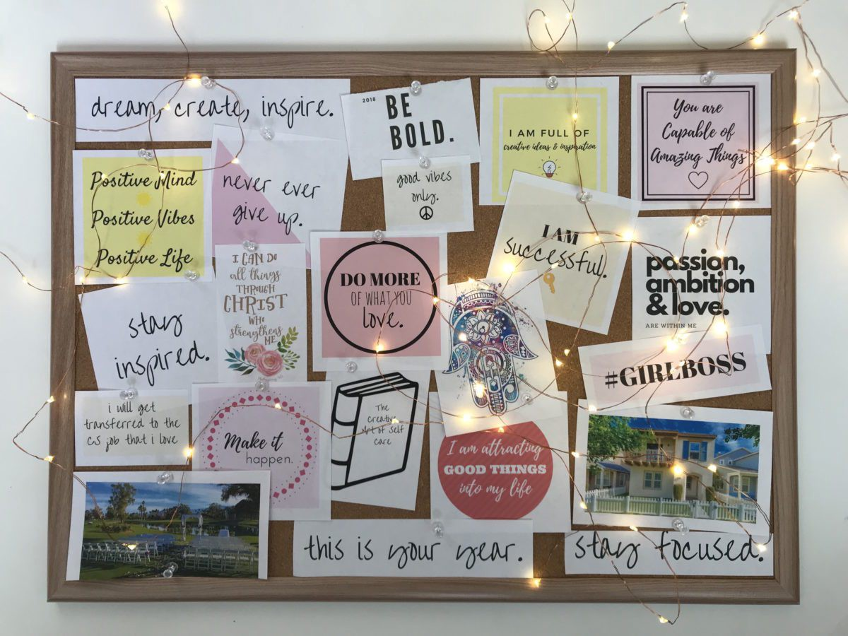 How To Create The Perfect Vision Board By Hamza Khan Ideas Into Action Medium