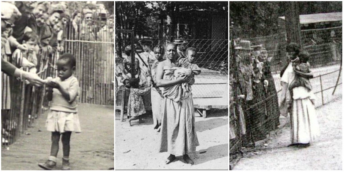 """The Obnoxious History Of """"Human Zoos"""" In—13 Never Before Seen Pictures"""